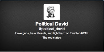 Political David on Twitter