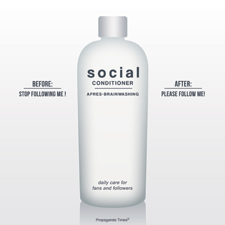 Social conditioner please follow me