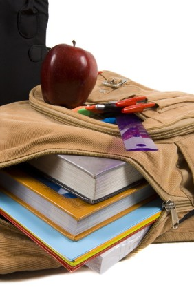 green-school-supplies