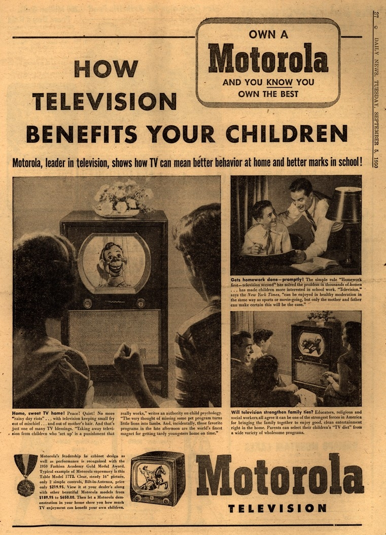 #FlashbackFriday: Selling Television to the Mainstream